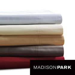 Madison Park 500 Thread Count Egyptian Cotton Damask Stripe Sheet Set