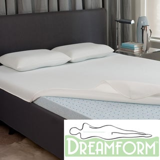 Dream Form Fresh Gel Memory Foam 2-inch Mattress Topper