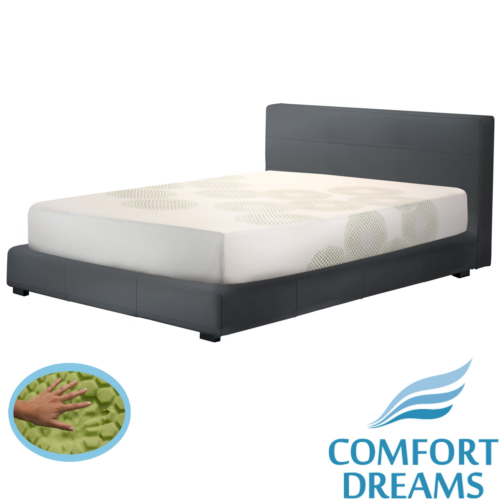 Comfort Dreams Lifestyle Collection Overall Relief 10-inch King-size Memory Foam Mattress at Sears.com