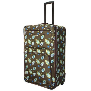 Rockland Designer 24-inch Expandable Rolling Upright Luggage