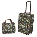 Rockland New Generation 2-piece Lightweight Carry-on Luggage Set