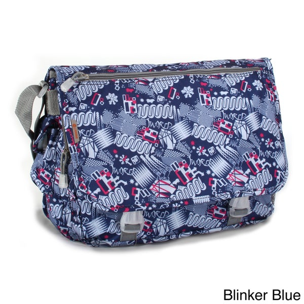 JWorld New York Blinker Terry Messenger Bag
