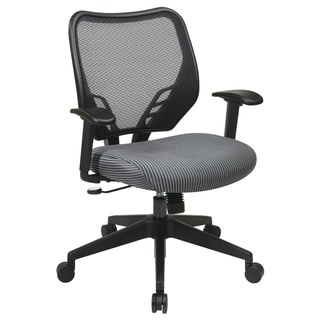 Office Star Products Space 81 Series Padded Dark Air-Grid Back Chair