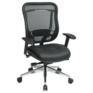 Office Star Products Space 818A Series Black Executive Chair
