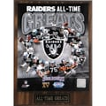 Oakland Raiders 'All Time Greats' Plaque