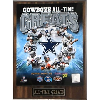 Dallas Cowboys 'All Time Greats' Plaque