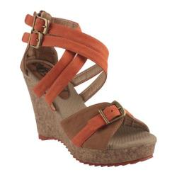Women's Beston Kaccy-1 Orange/Brown