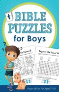 Bible Puzzles for Boys: Hours of Fun for Ages 7-10! (Paperback)