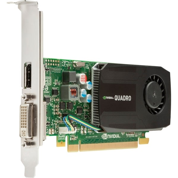 HP Quadro K600 Graphic Card - 1 GB DDR3 SDRAM - PCI Express - Low-pro