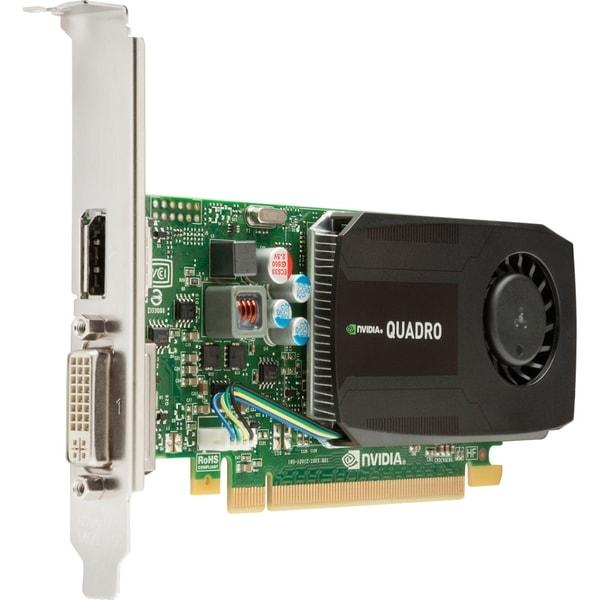 HP Quadro K600 Graphic Card - 1 GB DDR3 SDRAM - PCI Express - Low-pro