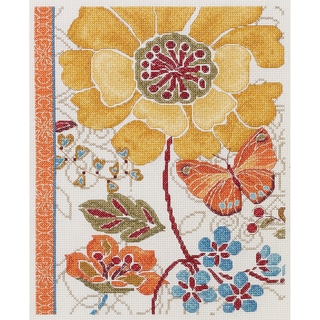 Spiced Bouquet Counted Cross Stitch Kit