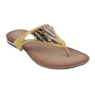 Bonnibel by Beston Women's 'BONZO-2' Slip-on Flip-flops