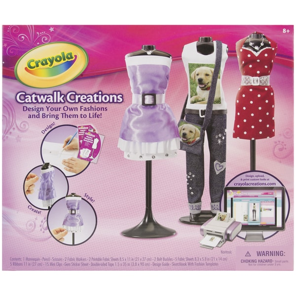 Crayola Catwalk Creations Kit