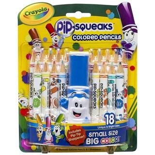 Pip-Squeaks Colored Pencils 18/Pkg