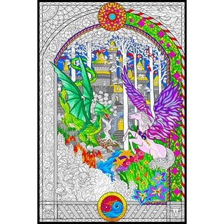 Line Art Wall Poster 22X32.5IN-The Key