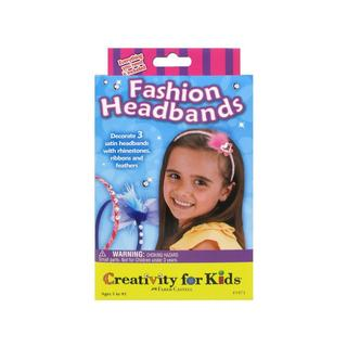 Creativity For Kids Activity Kits-Fashion Headbands (makes 3)