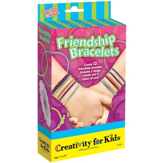 Creativity For Kids Activity Kits-Friendship Bracelets (makes 12)