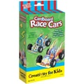 Creativity For Kids Activity Kits-Cardboard Race Cars (makes 2)