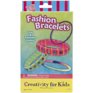 Creativity For Kids Activity Kits-Fashion Bracelets (makes 4)