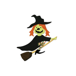 Sizzix Witch with Broom Bigz Die