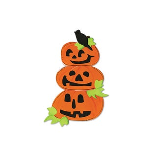 Sizzix Pumpkins with Crow/ Leaves Bigz Die