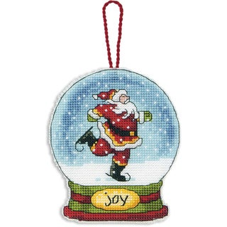 Joy Snowglobe Counted Cross Stitch Kit