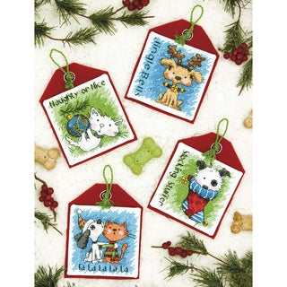 Pet Ornaments Counted Cross Stitch Kit