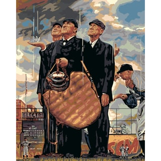 "Paint By Number Kit 16""X20""-The Three Umpires"