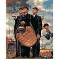 Paint By Number Kit 16&quot;X20&quot;-The Three Umpires