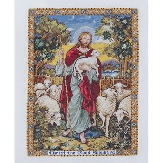 The Good Shepherd Counted Cross Stitch Kit