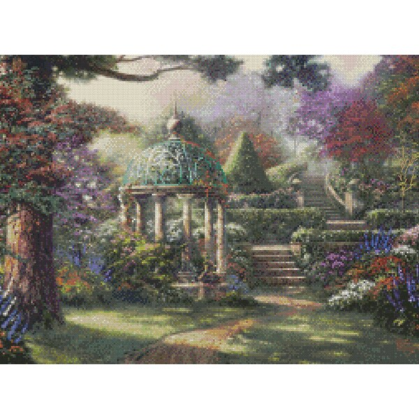 Gazebo Of Prayer Counted Cross Stitch Kit