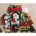 Train Wall Hanging Felt Applique Kit