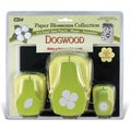 Paper Blossoms Punch Set/3 With Molding Mat-Dogwood