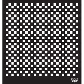 Sunrise Sunset Designer Stencil 12X12in-Checker