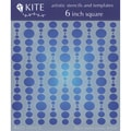 Judikins 6 Inch Square Kite Stencil-Bubble Curtain