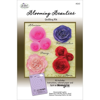 Quilling Kit-Blooming Beauties