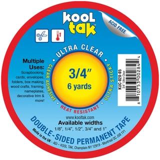 Kool Tak Ultra Clear Tape .75in X 6yds