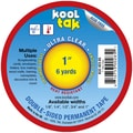 Kool Tak Ultra Clear Tape 1in X 6yds