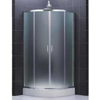 DreamLine Prime 34-3/8 x 34-3/8 Frameless Sliding Shower Enclosure