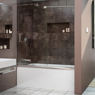 DreamLine Mirage 56 to 60-inch Frameless Sliding Tub Door