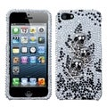 BasAcc Skulls and Crossbones Diamante Case for Apple iPhone 5