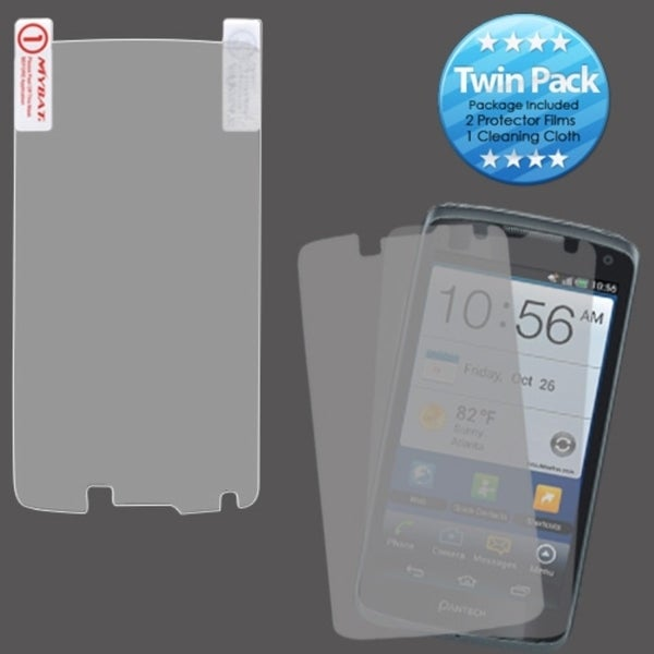 INSTEN Clear Screen Protector Twin Pack for Pantech P8010 Flex