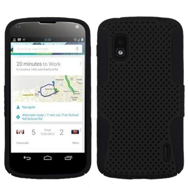 BasAcc Black/ Black Astronoot Phone Case for LG E960 Nexus 4