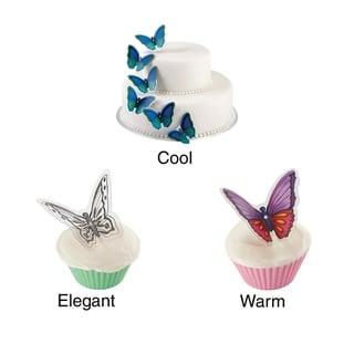 Butterfly Cake Pick 12/Pkg