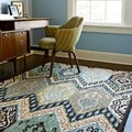 Hand-Tufted Tessa Multi Wool Rug (5'0 x 7'6)