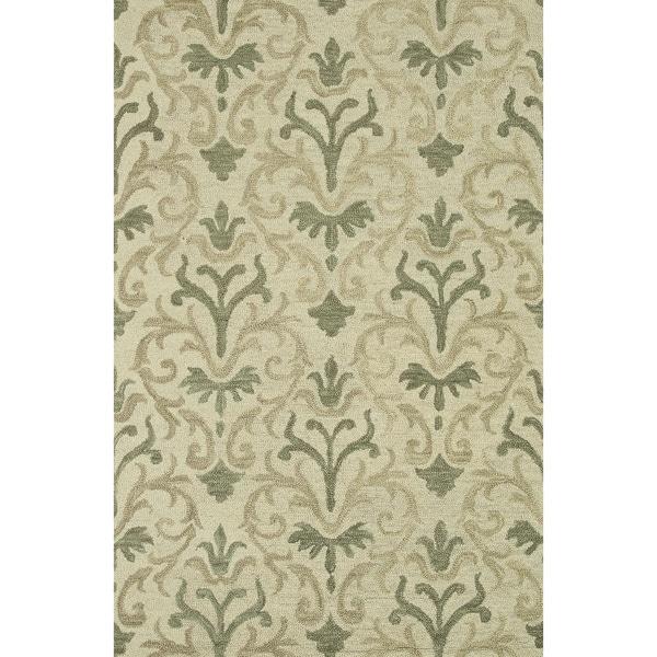 Hand-hooked Tessa Neutral Wool Rug (7'10 x 11')