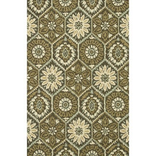 Hand-Tufted Tessa Brown Wool Rug (3'6 x 5'6)