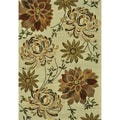 Hand Tufted Leighton Beige Wool Rug (7'6 x 9'6)