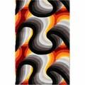 nuLOOM Handmade Modern Abstract Multi Area Rug (5' x 8')