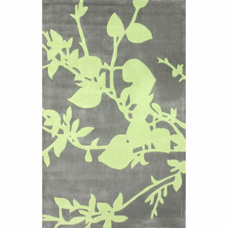 Nuloom Handmade Floral Grey Rug (83 X 11)